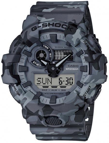 Zegarek Casio GA-700CM-8AER - duże 1