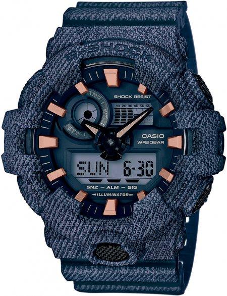 GA-700DE-2AER - zegarek męski - duże 3