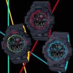 Zegarek męski Casio g-shock GA-700SE-1A2ER - duże 4