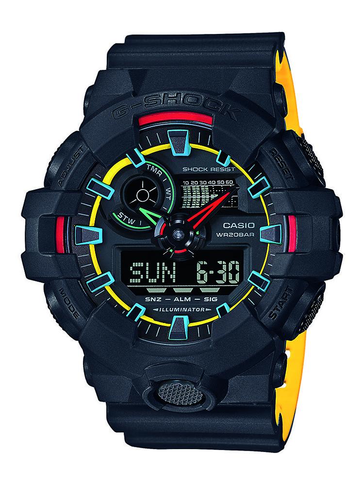 GA-700SE-1A9ER - zegarek męski - duże 3