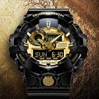 Zegarek męski Casio g-shock style GA-710GB-1AER - duże 2