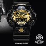 Zegarek męski Casio g-shock style GA-710GB-1AER - duże 5