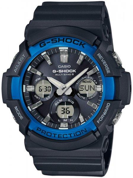 GAW-100B-1A2ER - zegarek męski - duże 3