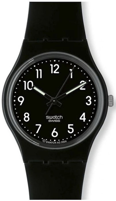 Swatch GB247R Originals Gent BLACK SUIT