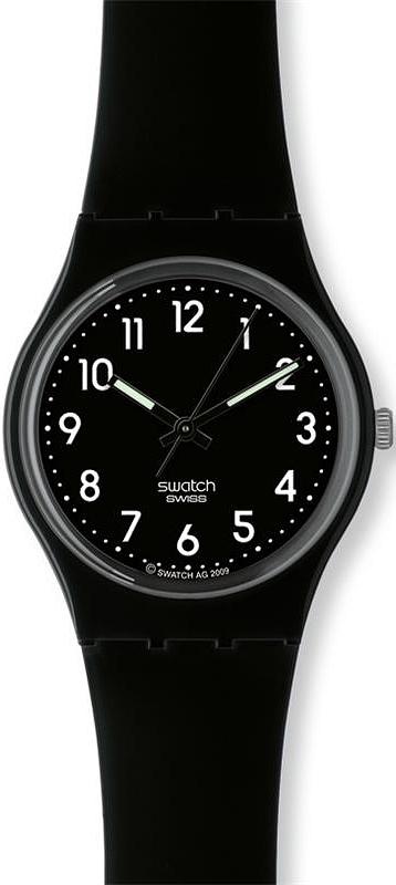 Swatch GB247 Originals Gent Black Suit