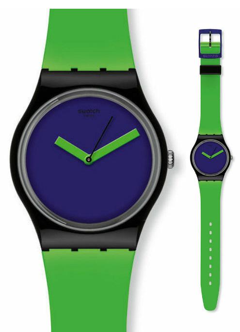 Swatch GB267 Originals Gent Greenn Violet