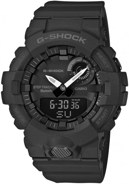 G-Shock GBA-800-1AER G-SHOCK Original G-SQUAD BLUETOOTH SYNC STEP TRACKER