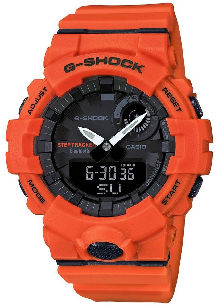 G-Shock GBA-800-4AER G-SHOCK Original G-SQUAD BLUETOOTH SYNC STEP TRACKER LIMITED