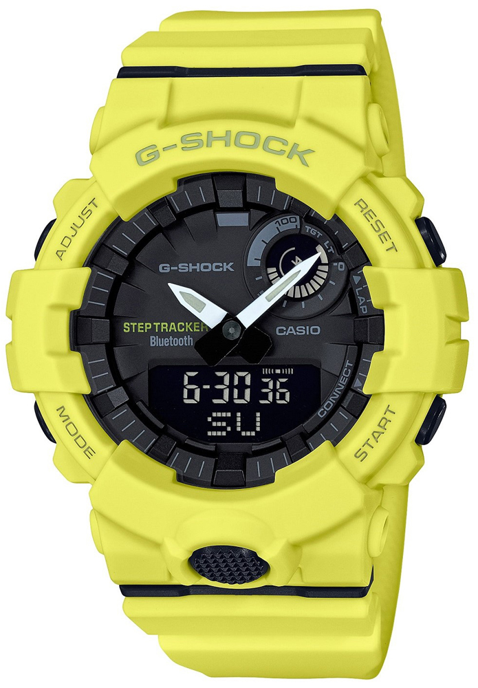 G-Shock GBA-800-9AER G-SHOCK Original G-SQUAD BLUETOOTH SYNC STEP TRACKER