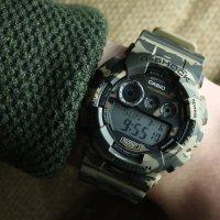 Zegarek męski Casio g-shock style GD-120CM-5ER - duże 2