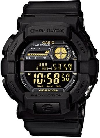 GD-350-1BER - zegarek męski - duże 3