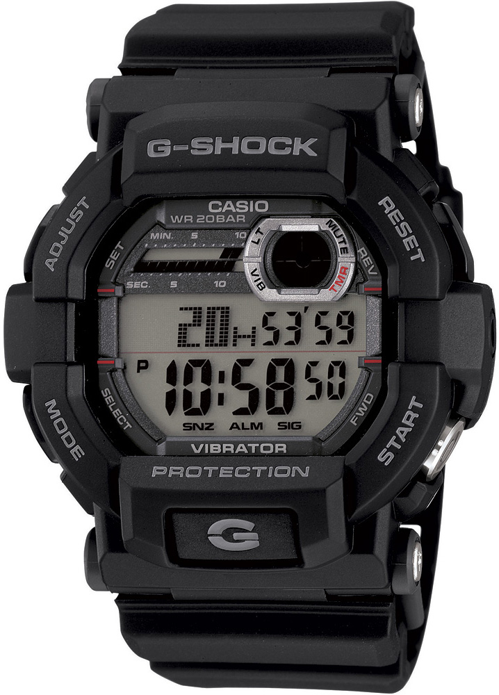 GD-350-1ER - zegarek męski - duże 3