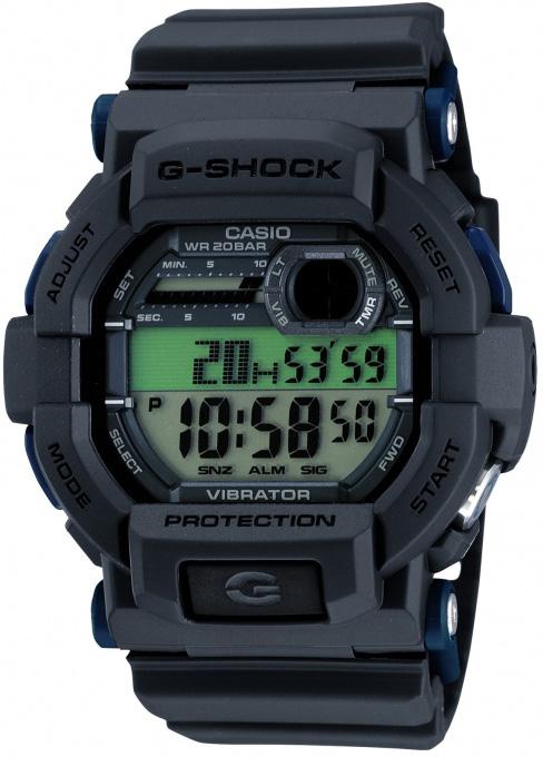 GD-350-8ER - zegarek męski - duże 3