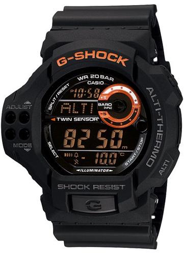 GDF-100-1BER - zegarek męski - duże 3