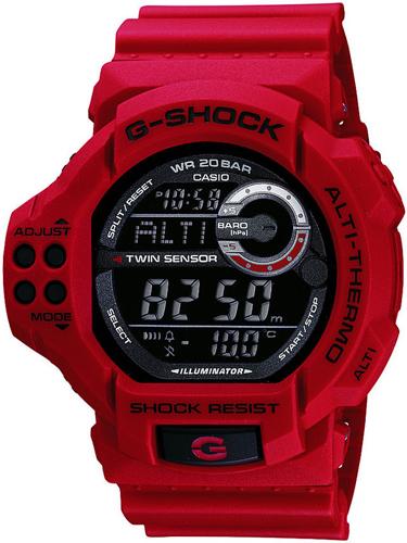 GDF-100-4ER - zegarek męski - duże 3
