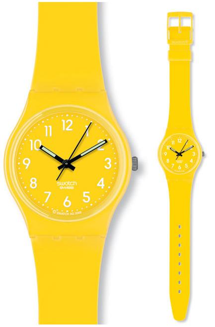 Swatch GJ128 Originals Gent Lemon Time