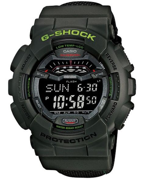 GLS-100-3ER - zegarek męski - duże 3