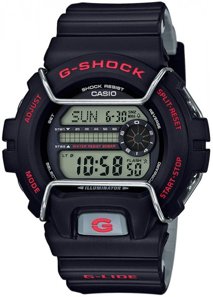 GLS-6900-1ER - zegarek męski - duże 3