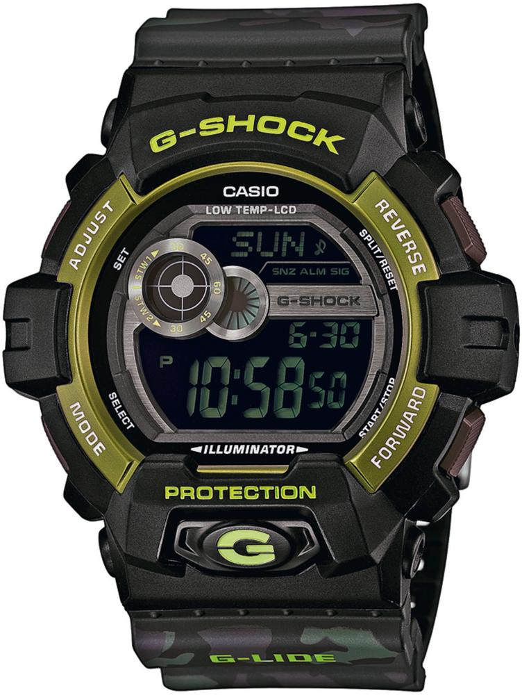 GLS-8900CM-1ER - zegarek męski - duże 3