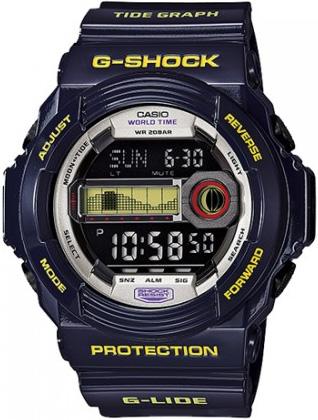 Zegarek męski Casio G-SHOCK g-shock GLX-150B-6ER - duże 3