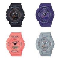 Zegarek damski Casio g-shock s-series GMA-S130VC-1AER - duże 2