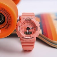 Zegarek damski Casio g-shock s-series GMA-S130VC-4AER - duże 3