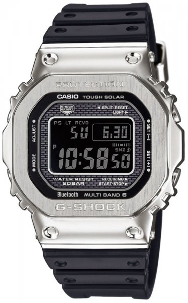 Zegarek męski Casio G-SHOCK g-shock specials GMW-B5000-1ER - duże 1