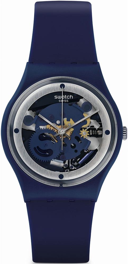 Swatch GN245 Originals Gent SQUELETTE BLUE