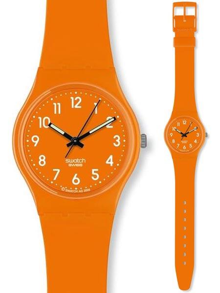 Swatch GO105 Originals Gent Fresh Papaya