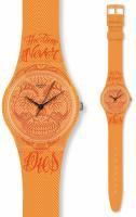 zegarek Time Never Dies Orange Swatch GO110