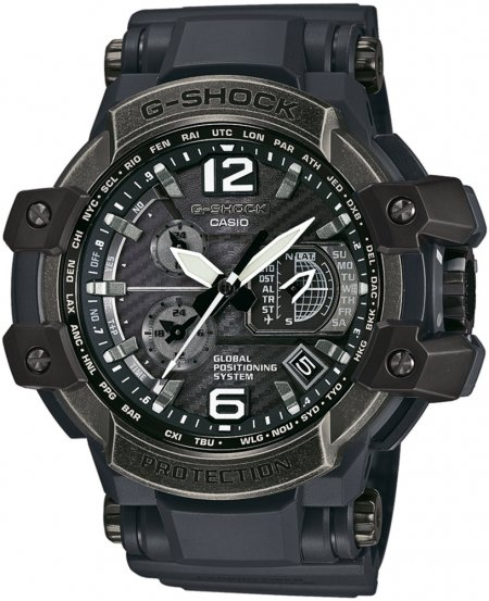 GPW-1000V-1AER - zegarek męski - duże 3