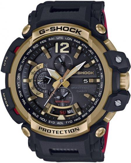 Zegarek G-Shock Casio 35TH ANNIVERSARY GOLD TORNADO GRAVITYMASTER LIMITED -męski - duże 3