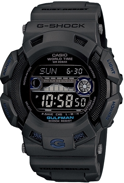 Zegarek G-Shock Casio Gulfman in Grey -męski - duże 3