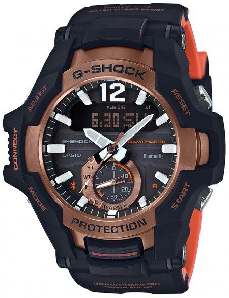 GR-B100-1A4ER-POWYSTAWOWY - zegarek męski - duże 3