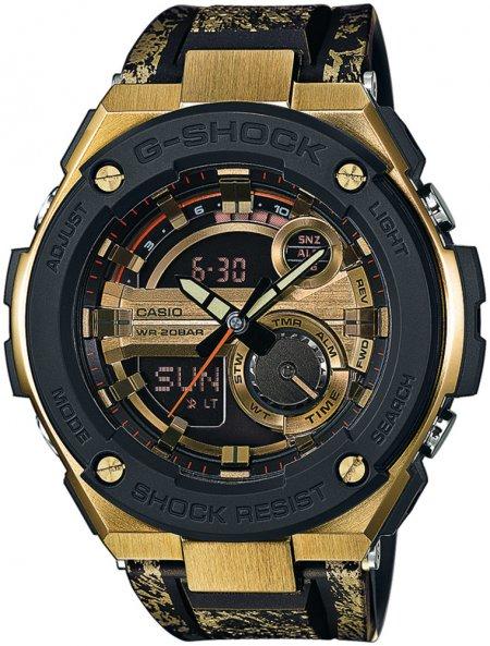 GST-200CP-9AER - zegarek męski - duże 3