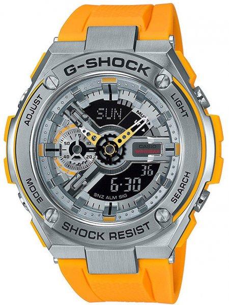 GST-410-9AER - zegarek męski - duże 3