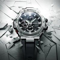 Zegarek męski Casio g-shock g-steel GST-B100-1AER - duże 2