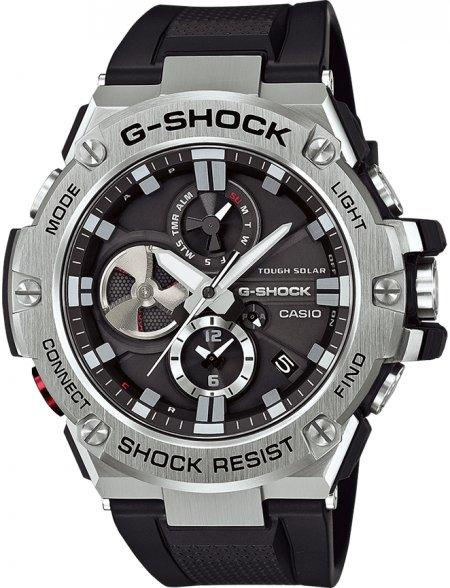 Zegarek męski Casio G-SHOCK g-shock g-steel GST-B100-1AER - duże 1