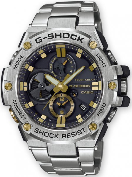 Zegarek G-Shock Casio G-STEEL BLUETOOTH SYNC -męski - duże 3