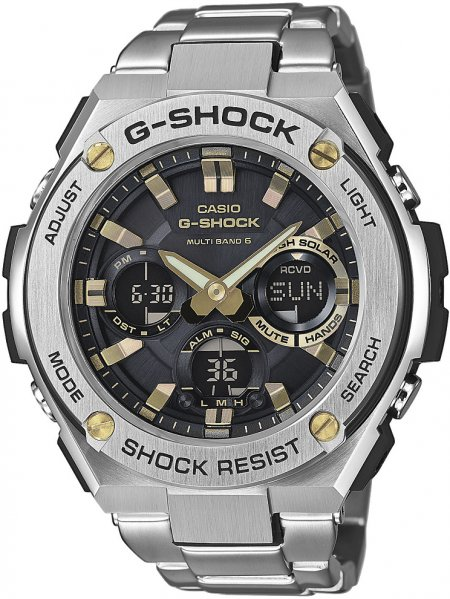 Zegarek Casio GST-W110D-1A9ER - duże 1