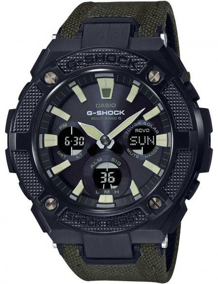 G-Shock GST-W130BC-1A3ER G-SHOCK G-STEEL G-STEEL TOUGH LEATHER AND CODURA NYLON BAND