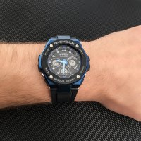 Zegarek męski Casio G-SHOCK g-shock g-steel GST-W300G-1A2ER - duże 2