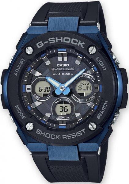 Zegarek Casio G-SHOCK GST-W300G-1A2ER - duże 1