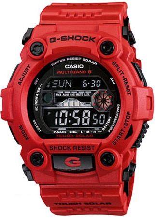 GW-7900RD-4ER - zegarek męski - duże 3