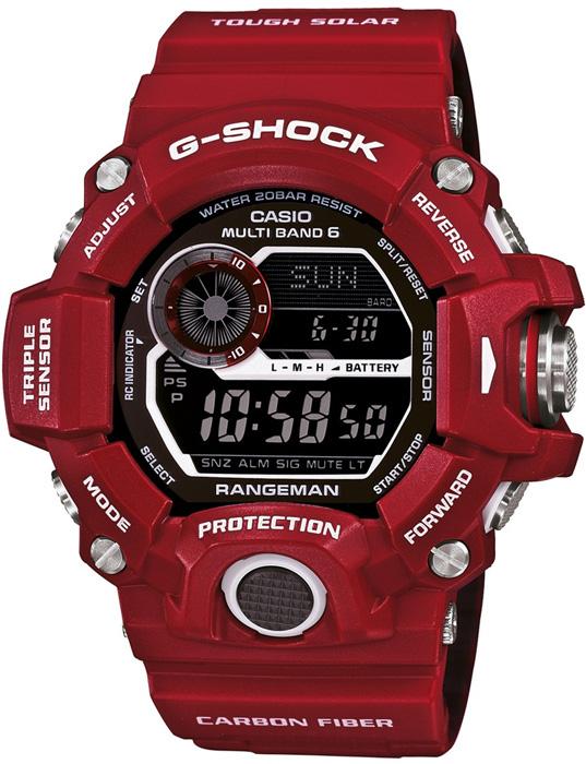 GW-9400RD-4ER - zegarek męski - duże 3