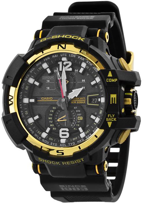 Zegarek męski Casio G-SHOCK g-shock GW-A1130-1A - duże 1