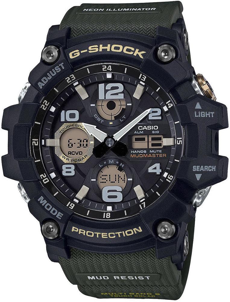 G-Shock GWG-100-1A3ER G-SHOCK Master of G Mudmaster