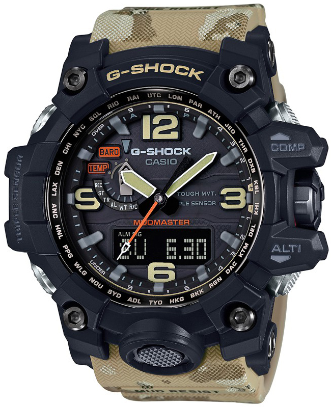 G-Shock GWG-1000DC-1A5ER G-SHOCK Master of G Mudmaster