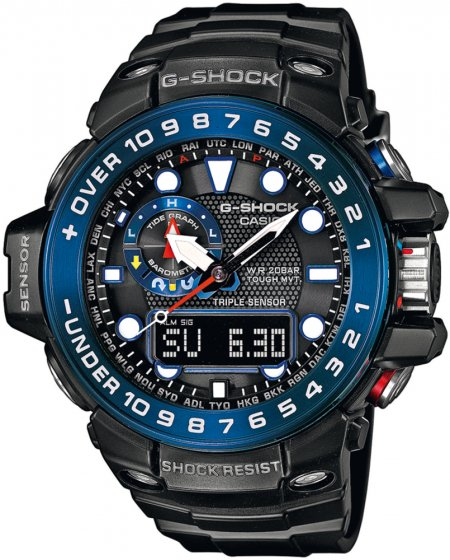 G-Shock GWN-1000B-1BER G-SHOCK Master of G GULFMASTER