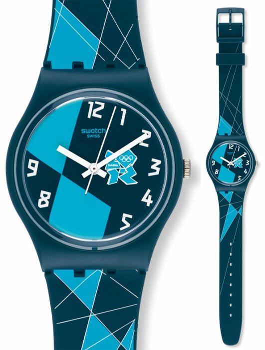Swatch GZ267 Olympic Games 2012 Olympic 2012 Blue